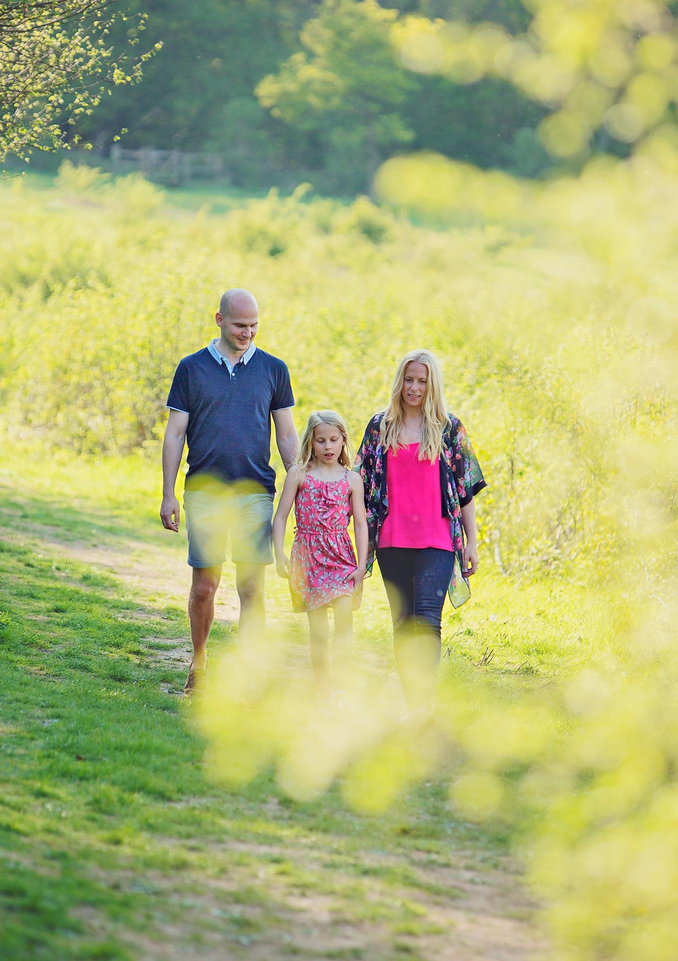 Jo Worthington Hampshire family rapeseed