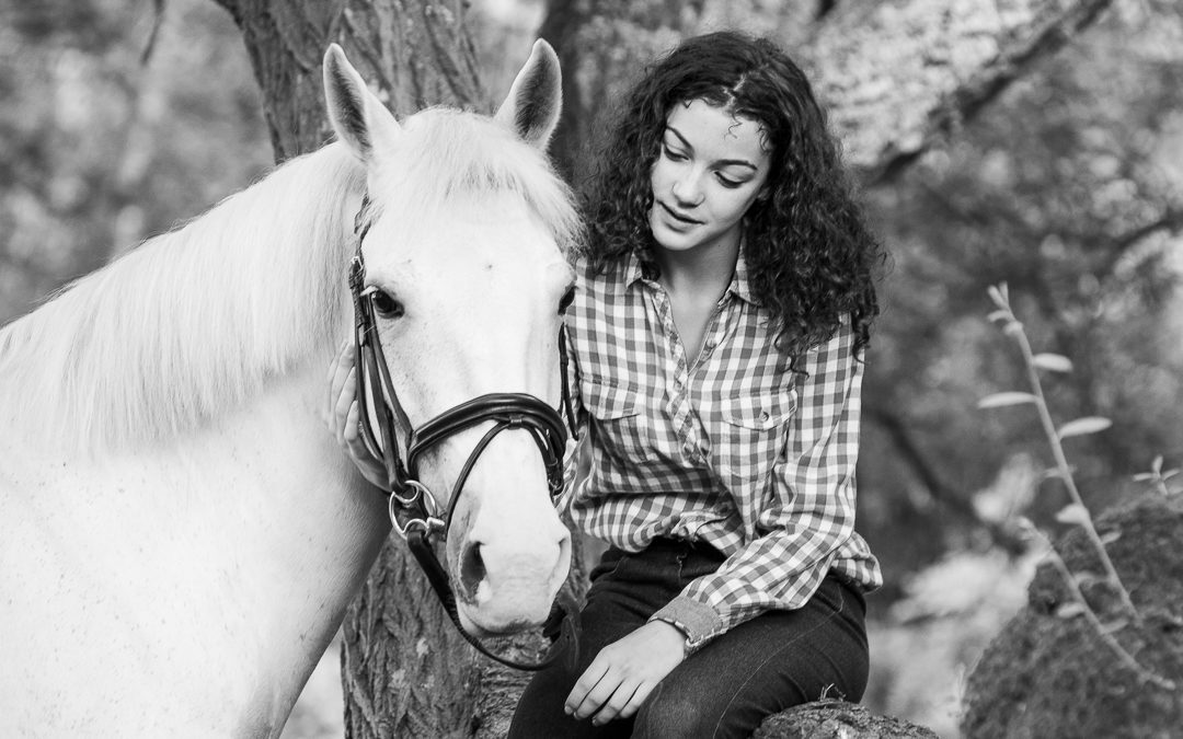 Equine portrait lifestyle session | Burley, New Forest