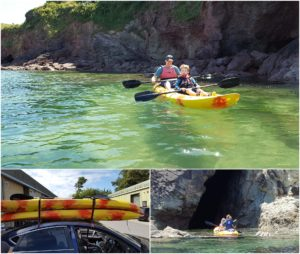 Hope Cove Devon Kayak Jo Worthington Photography